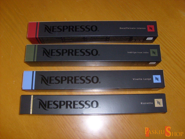 Cialde capsule caffè originali nespresso gusti a scelta